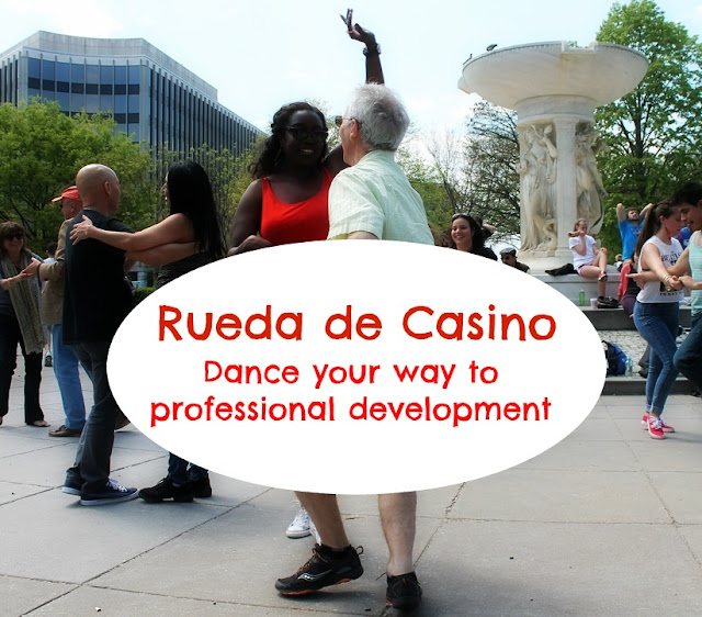 Spanish teachers dance your way to professional development