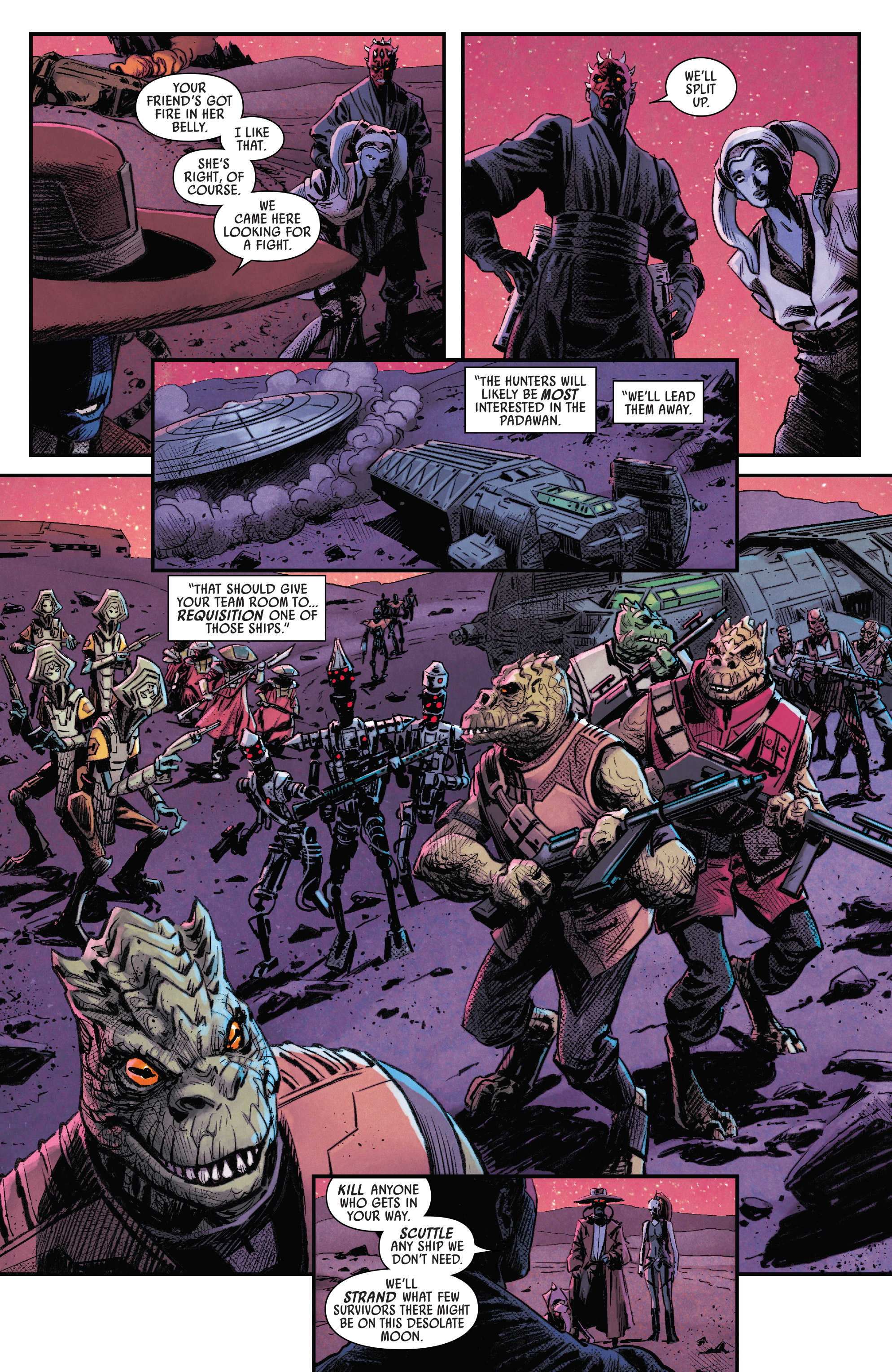 Read online Darth Maul comic -  Issue #4 - 6