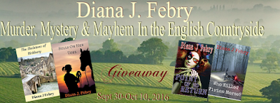 http://tometender.blogspot.com/2016/09/diana-j-febrys-murder-mystery-mayhem.html