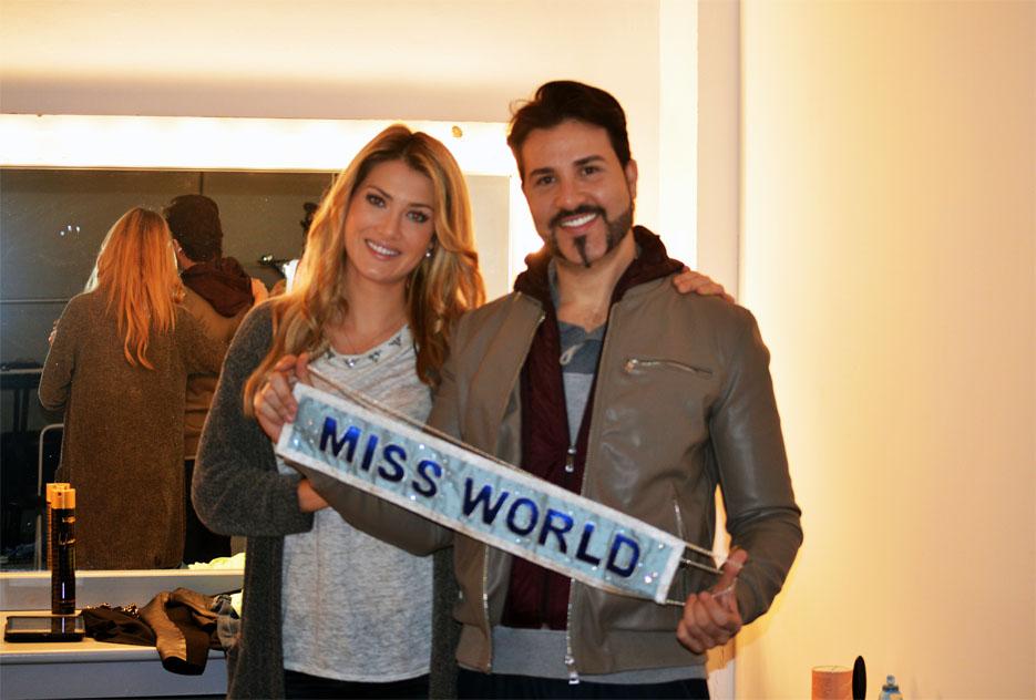 miss world fotos barcelona catalunya