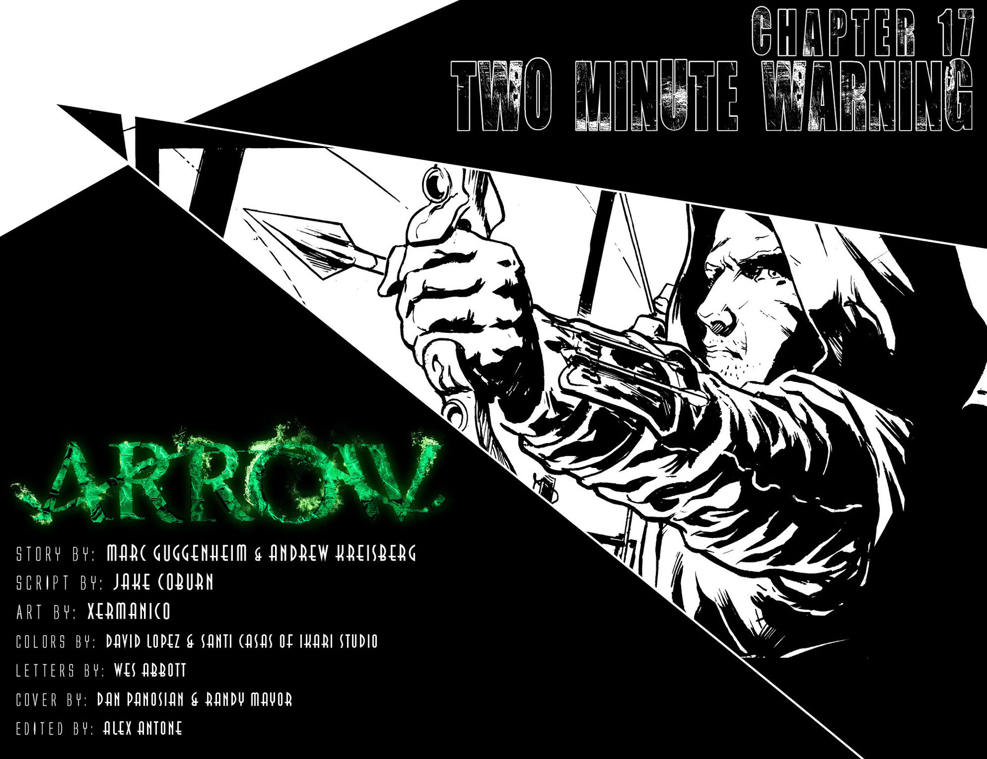 Read online Arrow [II] comic -  Issue #17 - 2