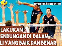 Cara Melakukan Bendungan/Block dalam Olahraga Bola Voli