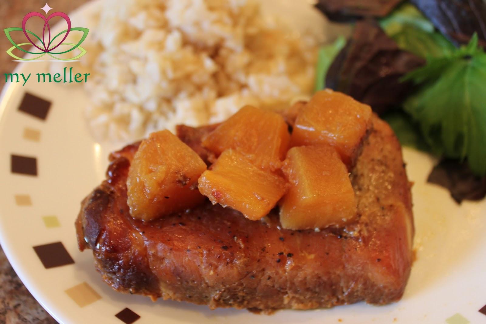 Slow Cooker Pineapple Pork Chops