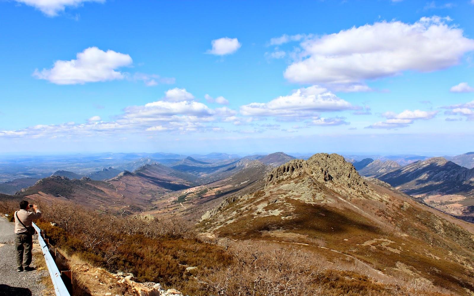 Sinclinal de Santa Lucia.  Geoparque de las Villuercas, Ibores y Jara (Cáceres)