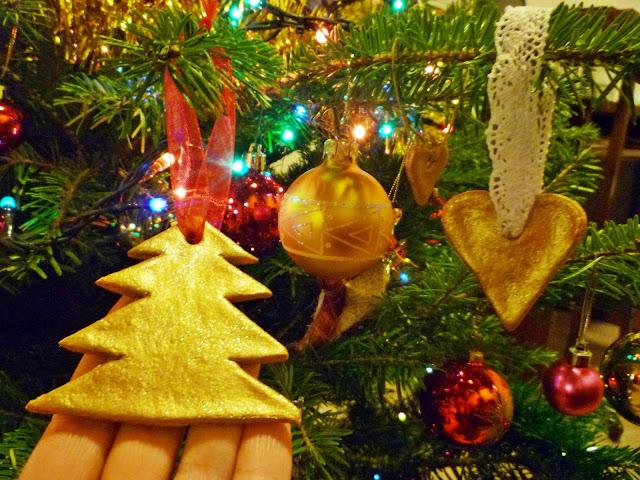 dekoracje na Boże Narodzenie - masa solna-dekoracje świąteczne