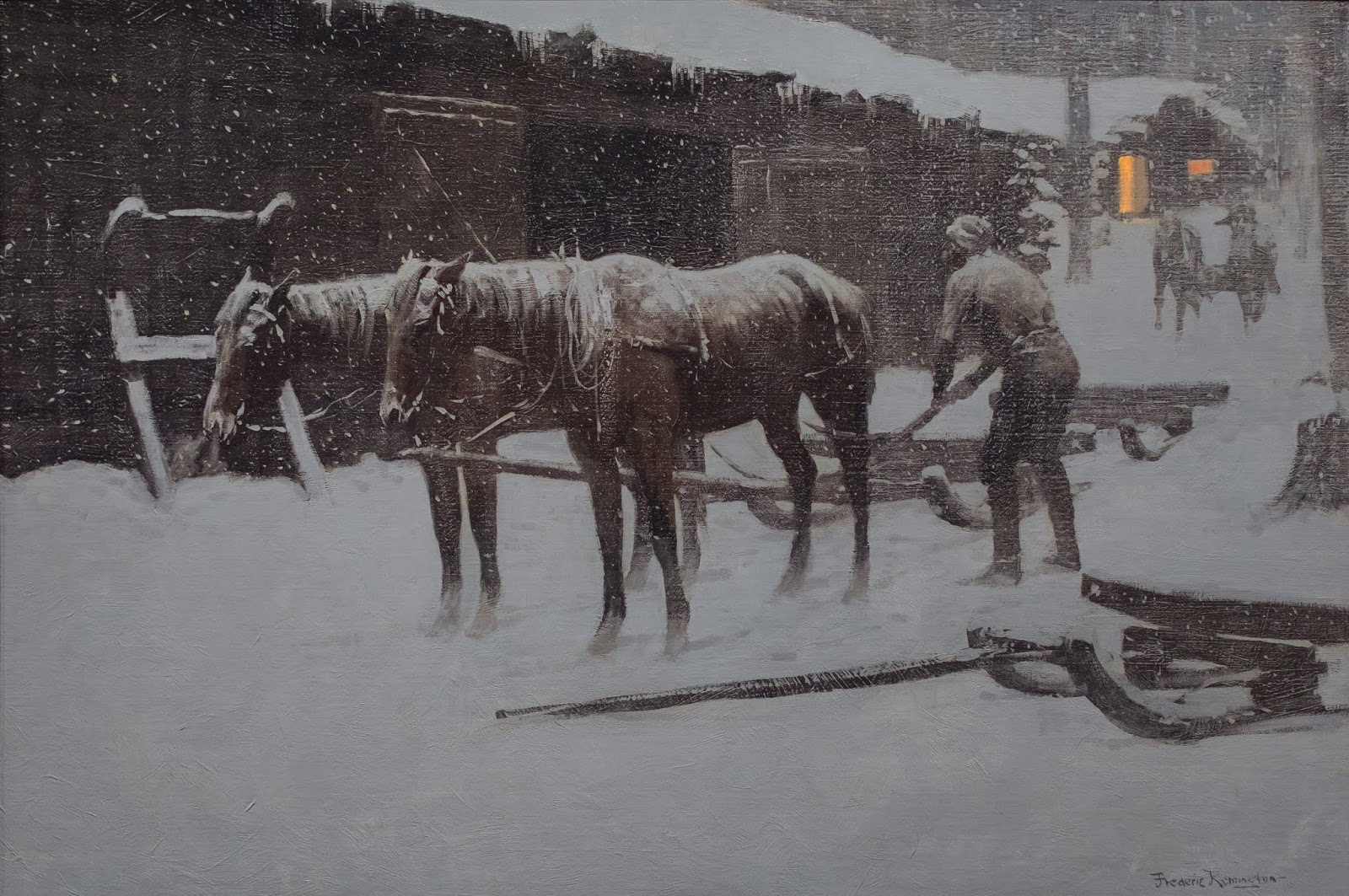 Patrick Saunders Fine Arts Frederic Remington Paintings Sid Richardson Museum Fort Worth Texas