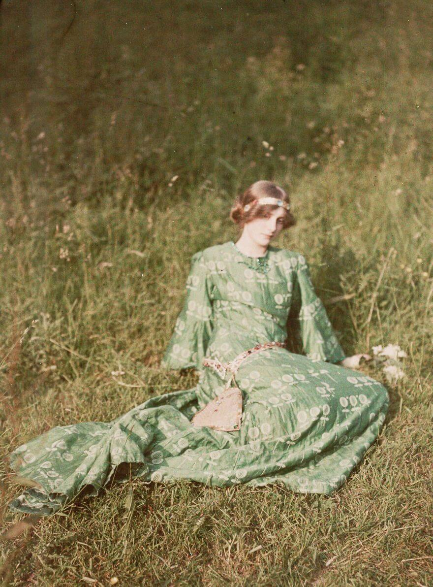 40 Old Color Pictures Show Our World A Century Ago - Daydreams, 1909