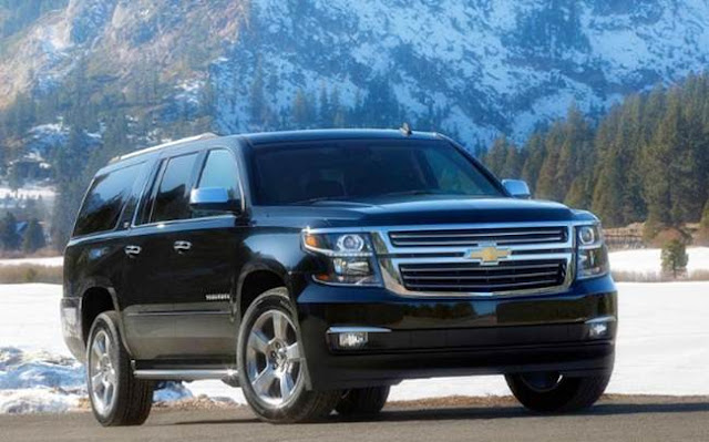 2018 Chevy Suburban Redesign