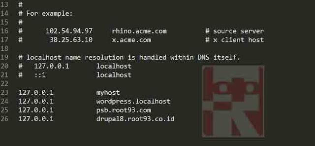 Konfigurasi httpd-vhost.conf
