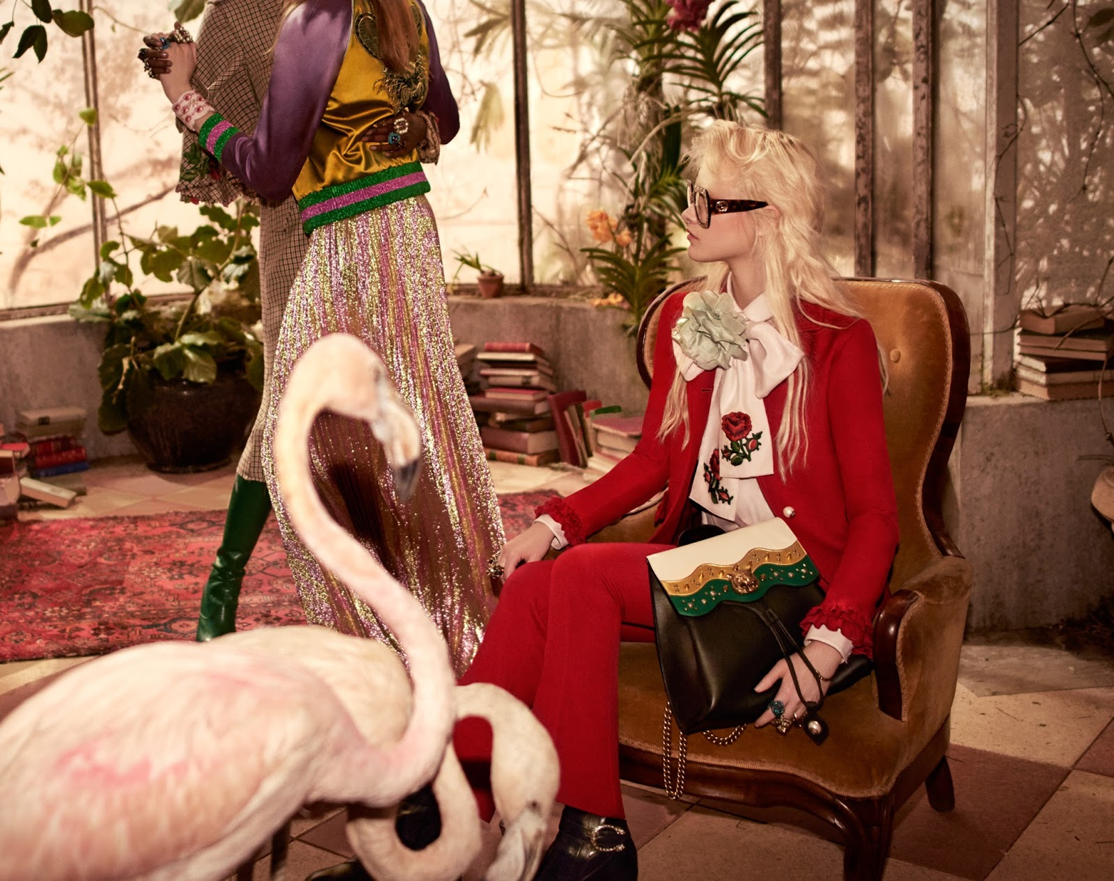 Gucci Pre-Fall 2016 Campaign by Glen Luchford