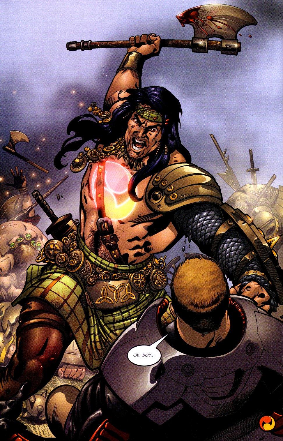 Read online Sigil (2000) comic -  Issue #16 - 21