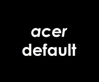 Cara Mereset Laptop Acer ke Setingan Pabrik (Pengaturan Default)