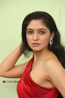 Actress Zahida Sam Latest Stills in Red Long Dress at Badragiri Movie Opening .COM 0070.JPG