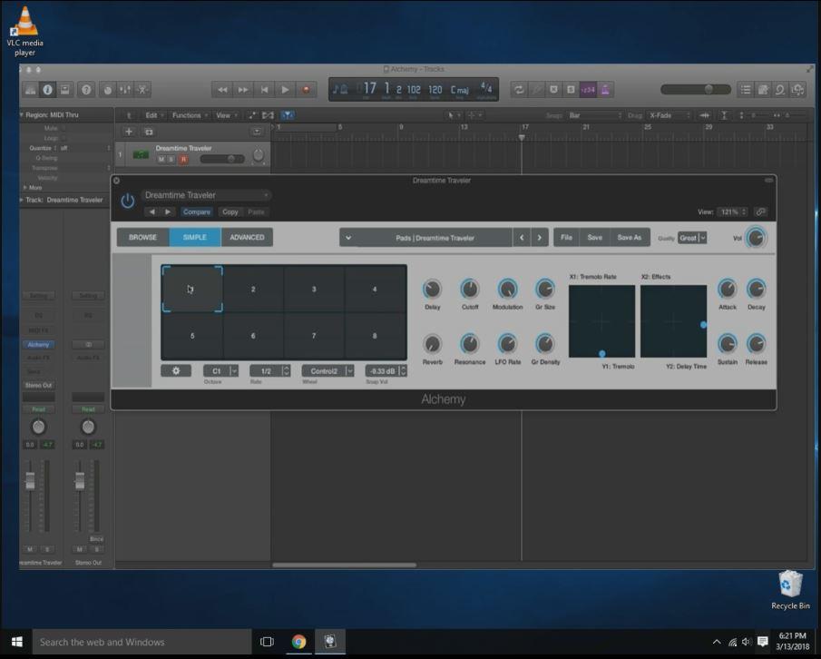 logic pro x windows 10