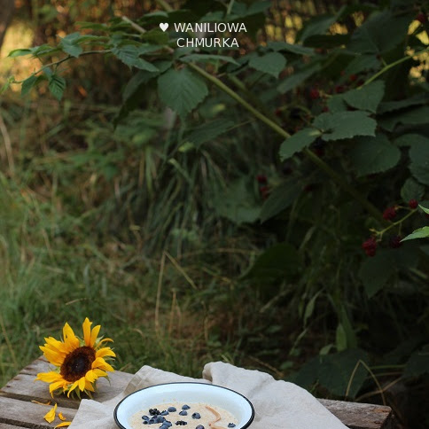 Amarantusanka z borówkami i jeżynami