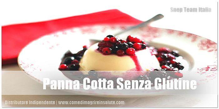 Panna Cotta Senza Glutine