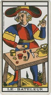El Mago- Arcano I- Tarot de Marsella