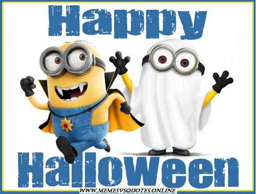 Minion happy halloween Images