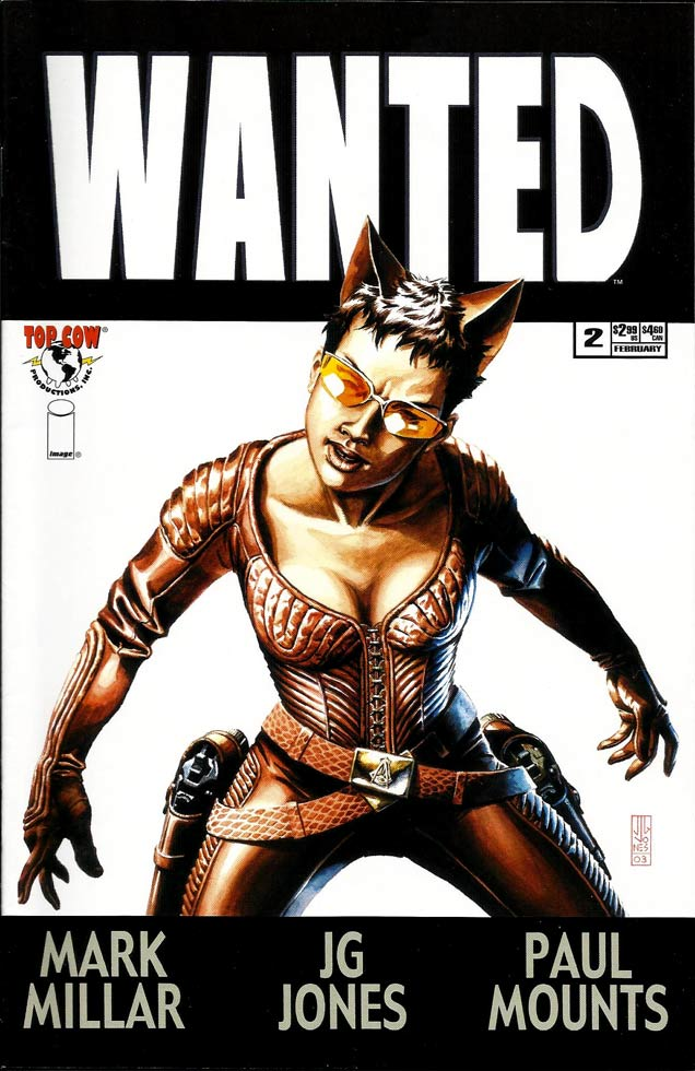 WANTED, THE FOX, portada, cómic