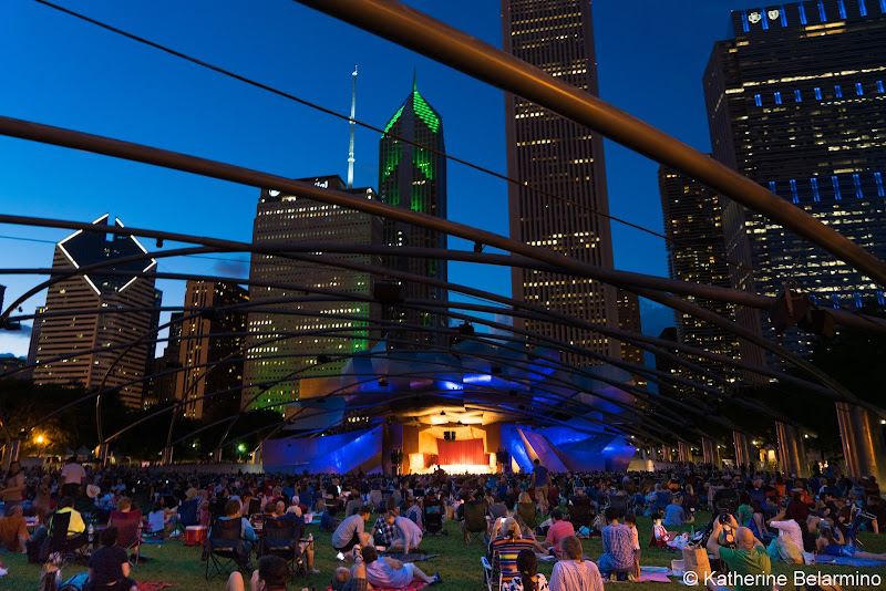 Jay Pritzker Pavilion Girls' Weekend in Chicago