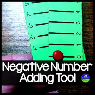Integer operations manipulative for adding and subtracting negative numbers