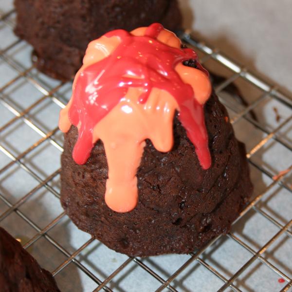 Molten Lava Cake Cupcakes
