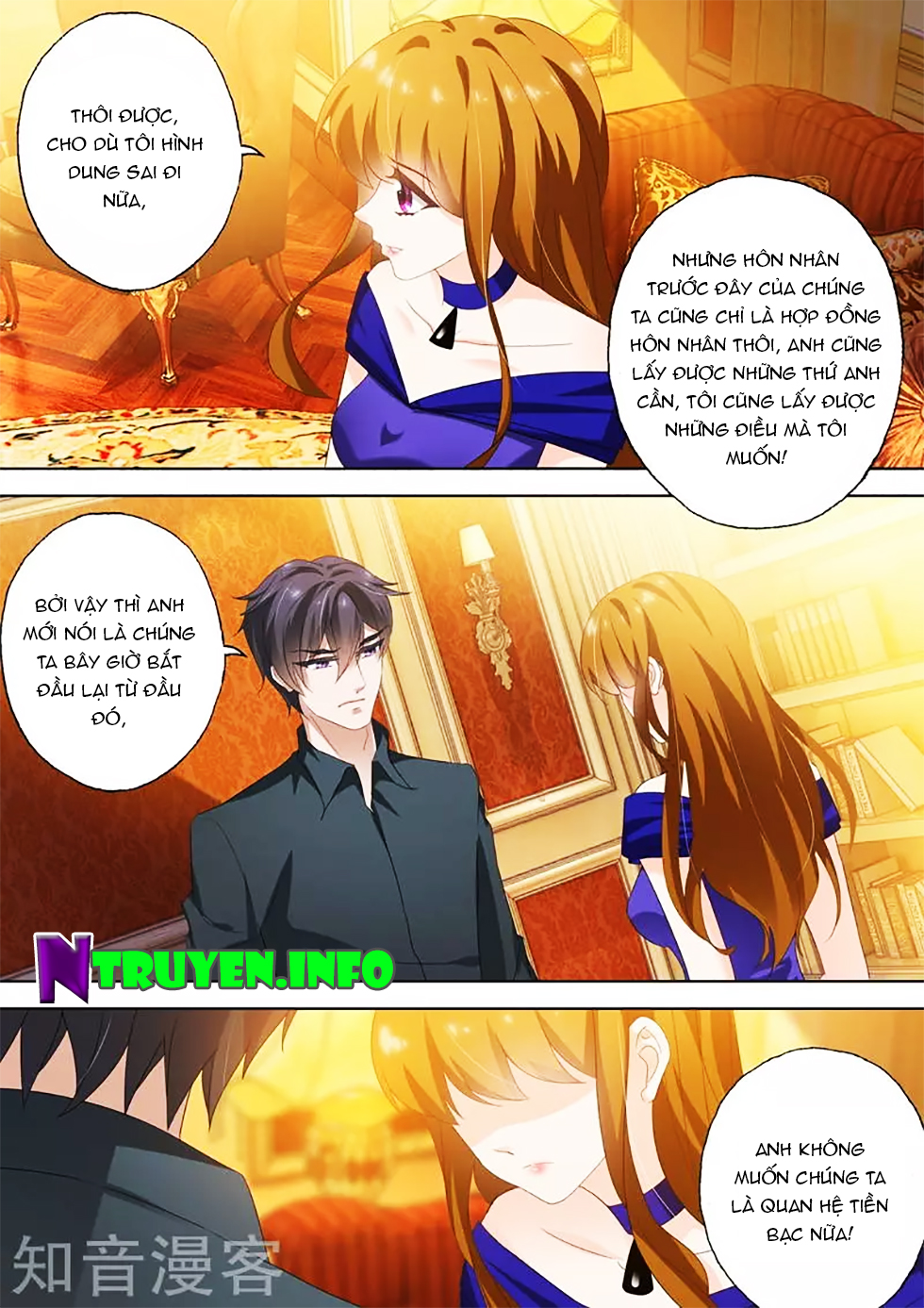 Hào Môn Thiên Giới Tiền Thê chap 292 - Trang 2