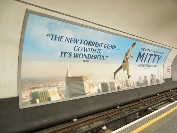 Mitty London tube poster