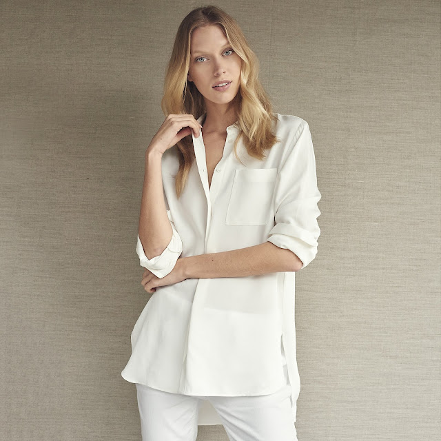 The White Company Silk Shirt