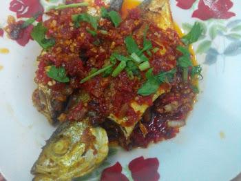 Resepi Ikan Goreng Tumis Cili Padi Panas Membara