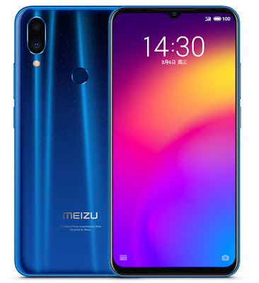 Meizu Note 9 display and build quality