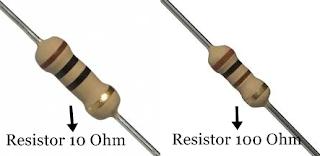 Cara Menghitung Nilai Resistor 10 Ohm / 100 Ohm