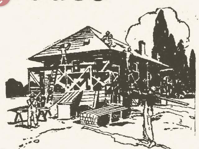 elyria chronicle telegram parsch lumber 1921 ad