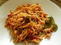 Chicken Suwir Spicy ingredients