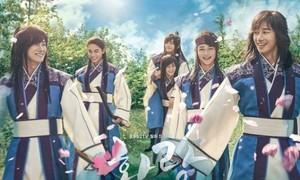 Phim Poster toàn trai đẹp của Hwarang - drama thần tượng cổ trang-2016