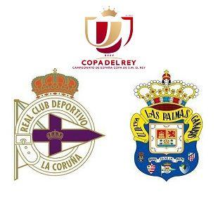 Deportivo La Coruna vs Las Palmas highlights | Copa Del Rey