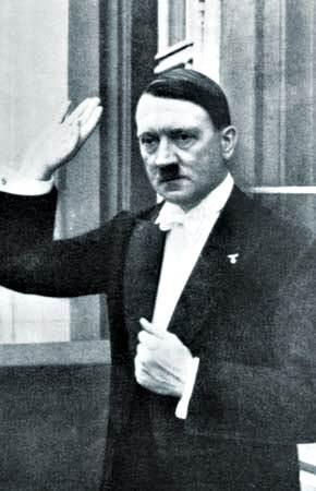 Adolf Hitler, en los años treinta.
