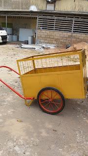 JUAL gerobak sampah harga murah , gerobak murah di jakarta dan bandung