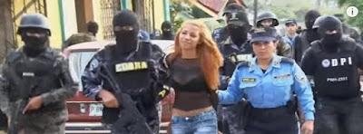 mujer sicaria en Honduras