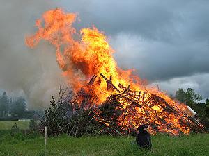 Vacas mortas e arados queimados