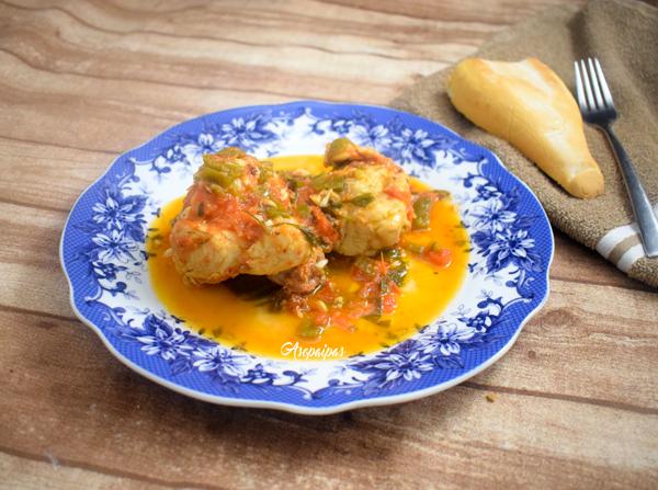 Pollo a la Bilbaína