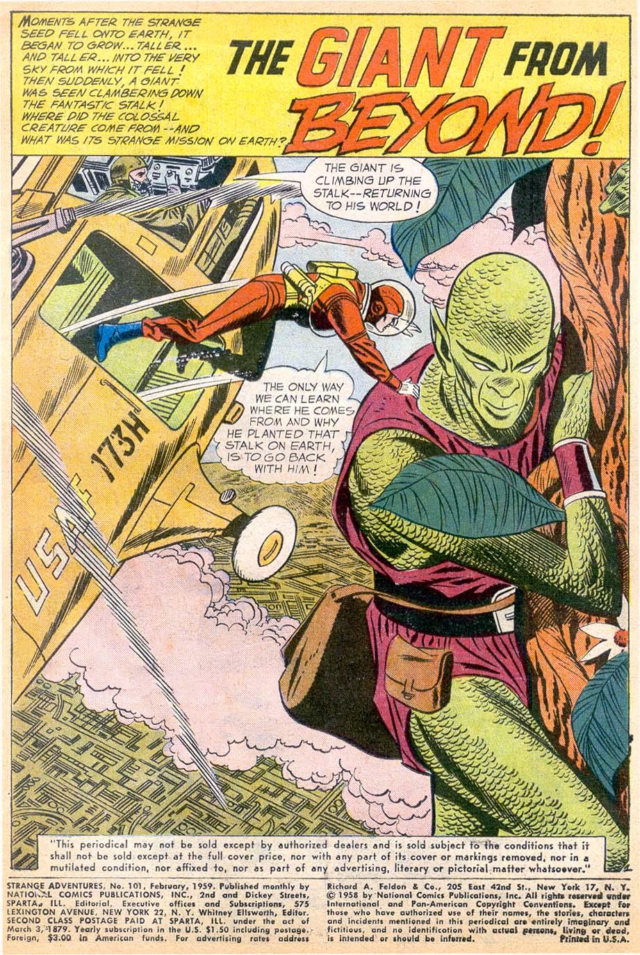 Strange Adventures (1950) issue 101 - Page 3