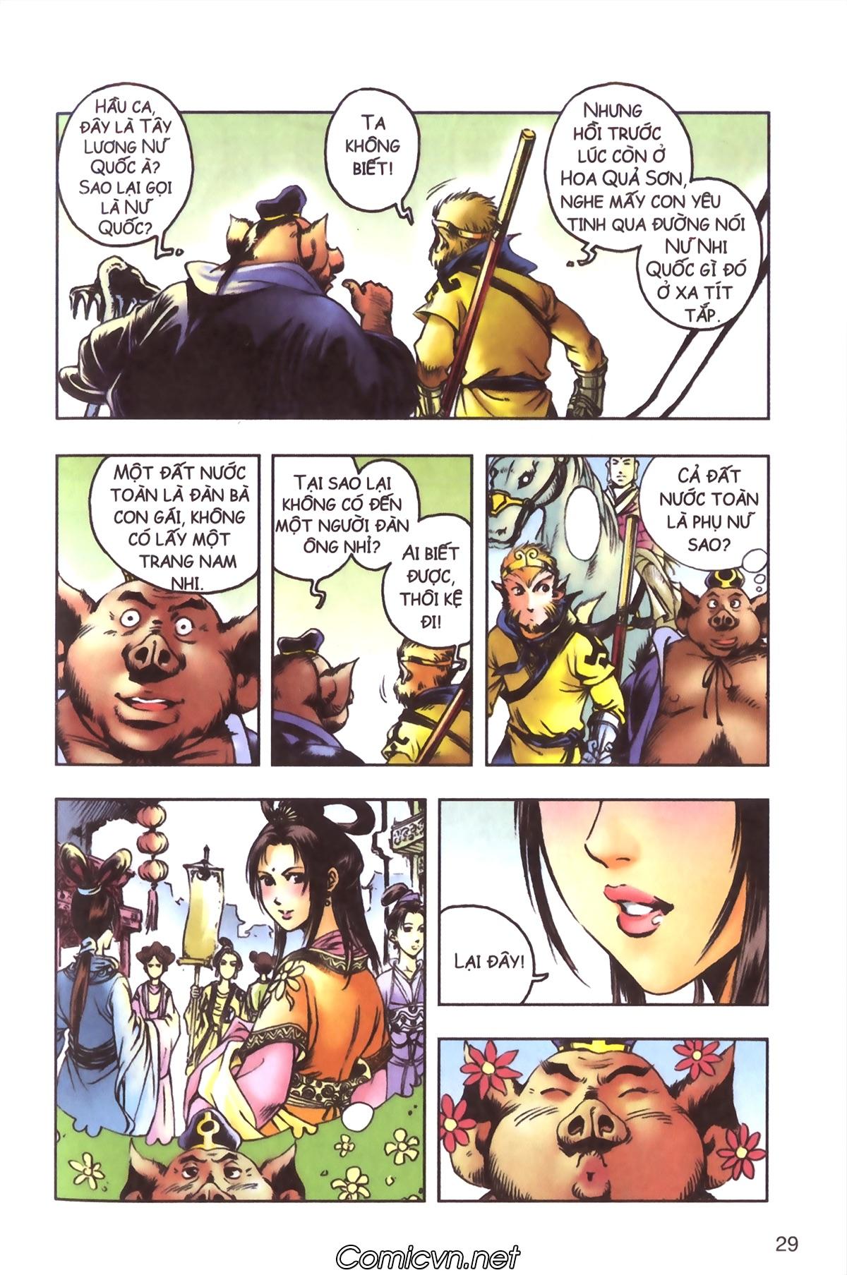 Tây Du Ký màu - Chapter 96 - Pic 27