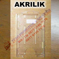 Casing Id Card Bahan Akrilik, Casing ID Card, Card Holder