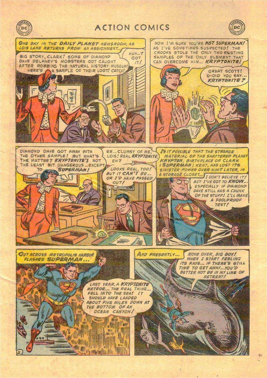 Read online Action Comics (1938) comic -  Issue #181 - 3