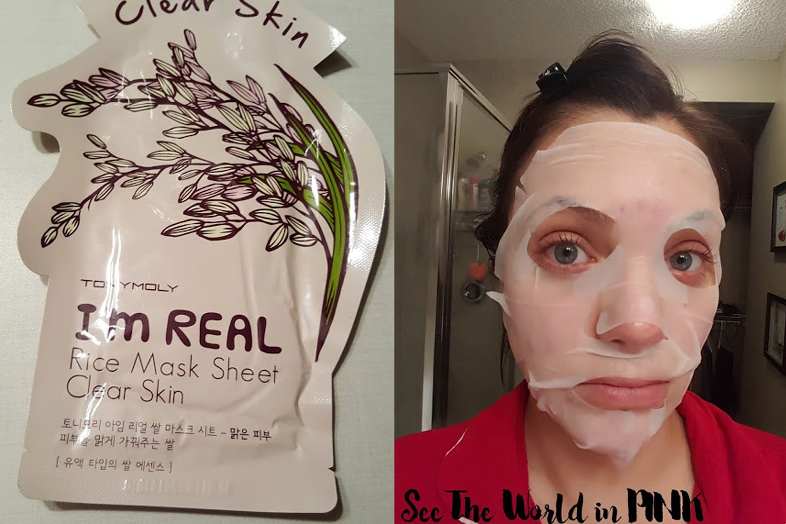 tony moly rice sheet mask