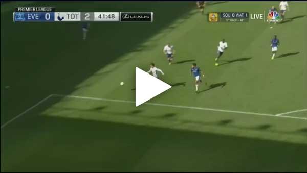 Video Everton 0 - 3 Tottenham