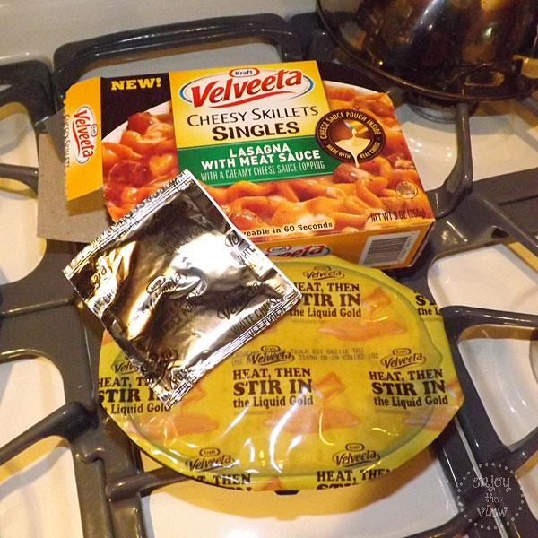 Velveeta Cheesy Skillets Singles Liquid Gold