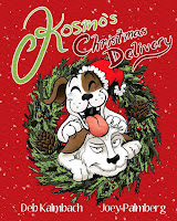 children's books, christmas books, Deb Kalmbach, books about terriers