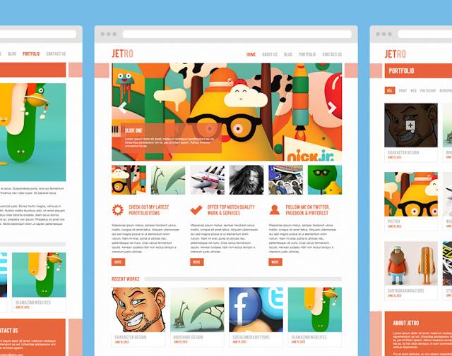 10 geniales plantillas para diseños web